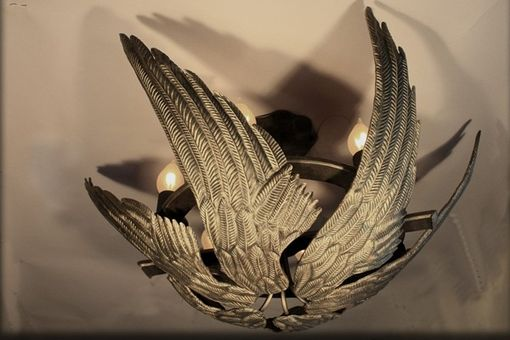 Custom Made Birdwing Chandelier