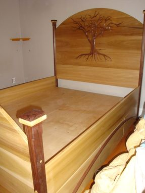 Custom Made 6 Drawer Queen Size Storage Bed