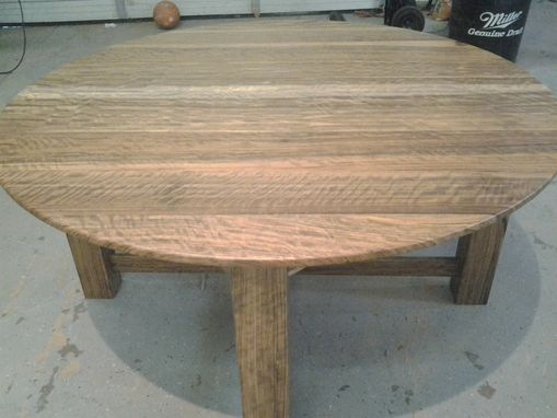 Custom Made 5 Ft Round Dining Table