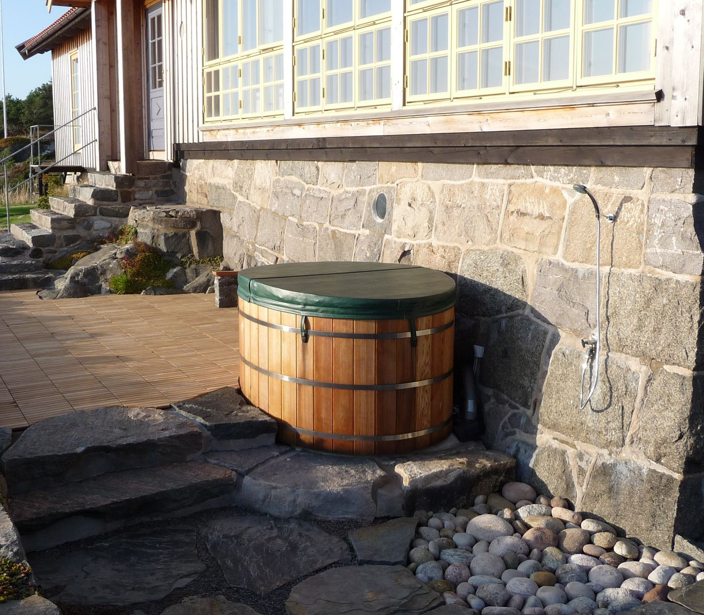 cooperage wood tubs hot tub gallery forest lumber and photo barrel