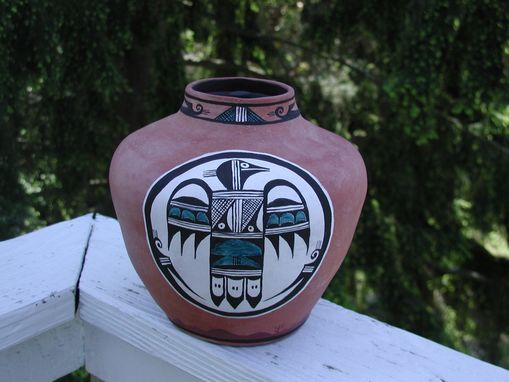 Custom Made Sw Native American Cremation Urn