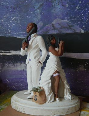 Custom Made Custom Wedding Cake Topper