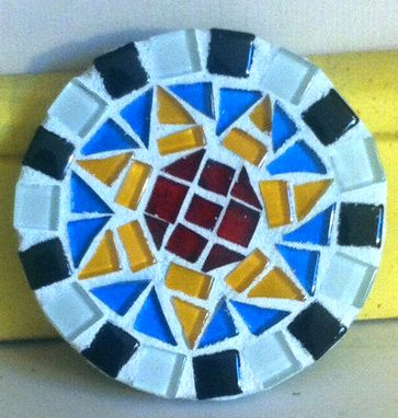 Custom Made Custom Mosaic Mirror