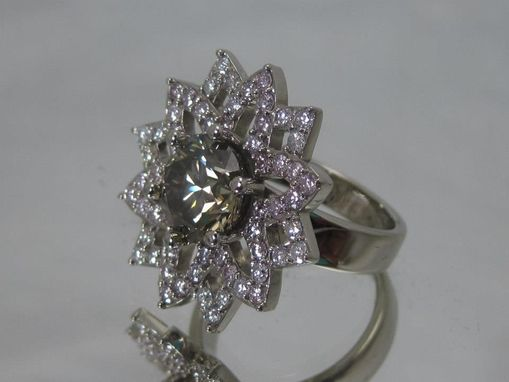 Custom Made Flower Ring