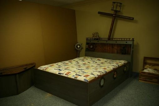 Custom Made Ship Wrecked Bed