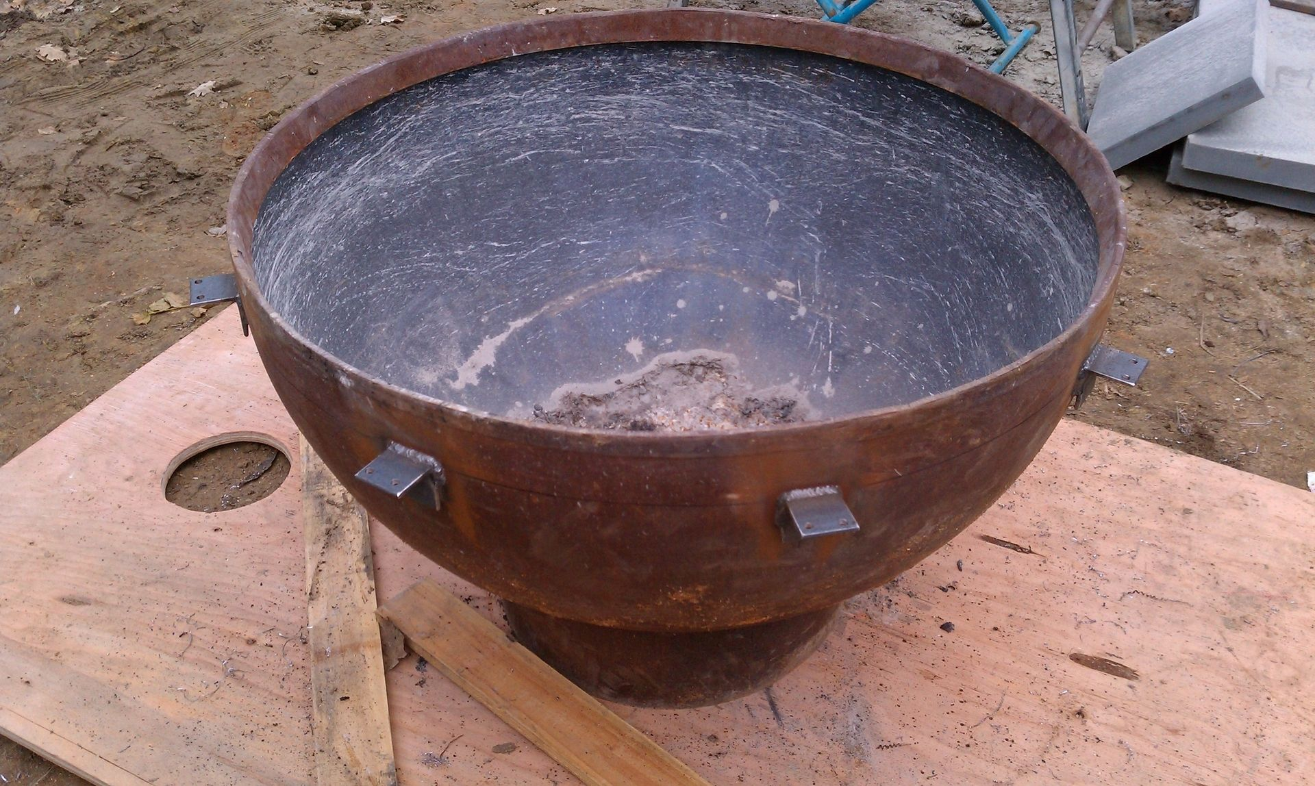 handmade pit handmade outdoor gas pit by sawdust steel 4585