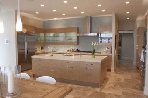 Custom Made Rift Sawn White Oak Modern Cabinetry
