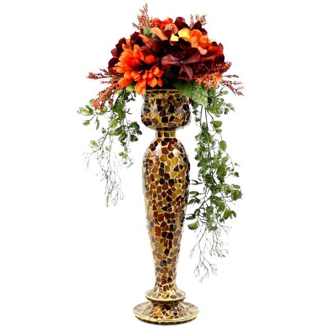 Custom Made Wedding Table Centerpiece Silk Flower Arrangement ...