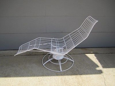 Custom Made Mid-Century Banana Shaped Lounge Chair Homecrest Mid Century