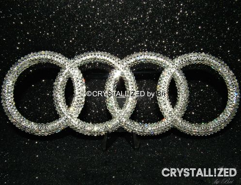 Custom Made Crystallized Car Emblem Bling Made With Swarovski Crystals - Any Car