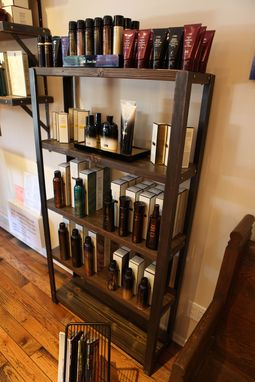 Custom Made Custom Industrial Salon And Retail Fixtures