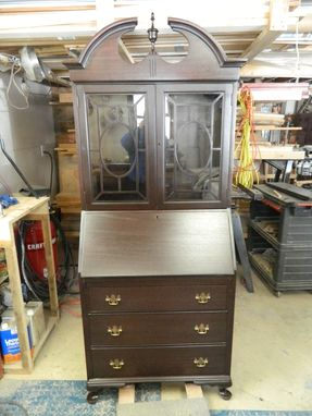 Custom Made Heairloom Secretary Desk