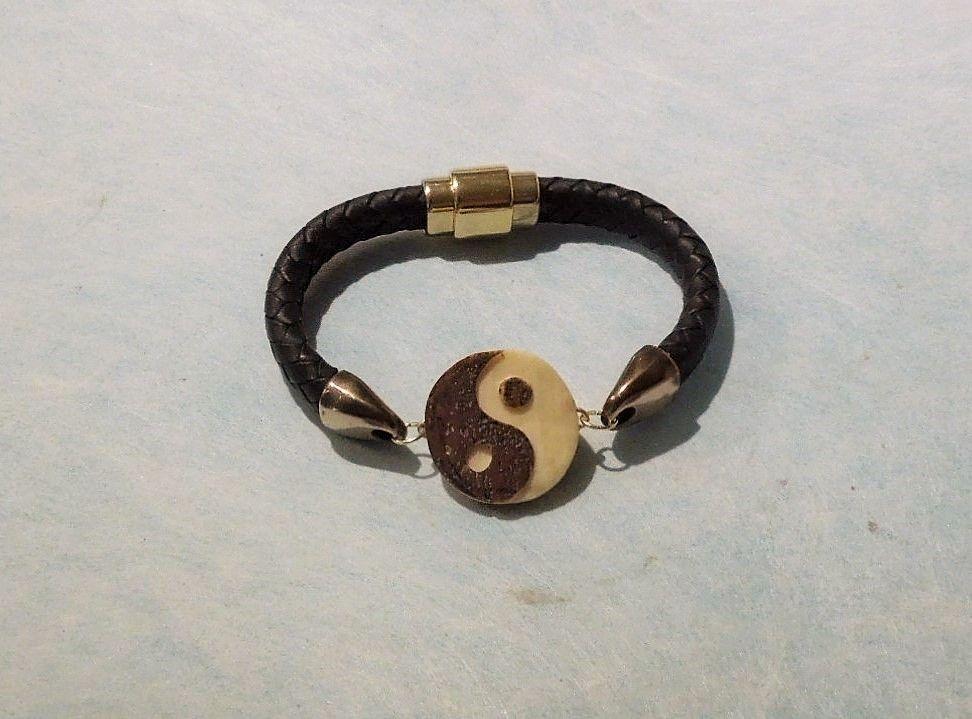 Custom Made Yin Yang Charm Bracelet
