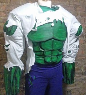 Custom Made Hulk Costume