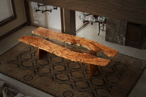 Custom Made Slab Dining Table