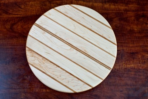 "Custom Made 18"" Wooden Lazy Susan"