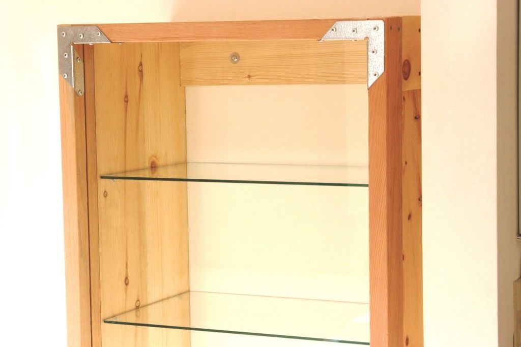 Hand Crafted Large Cabinet With Glass Door By Catapult Woodworks Custommade Com