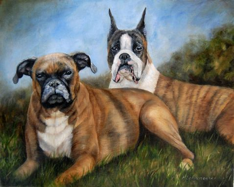Custom Made Dog Paintings