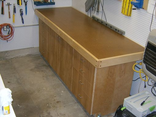 Custom Made Assembly Table Torsion Box Workbench