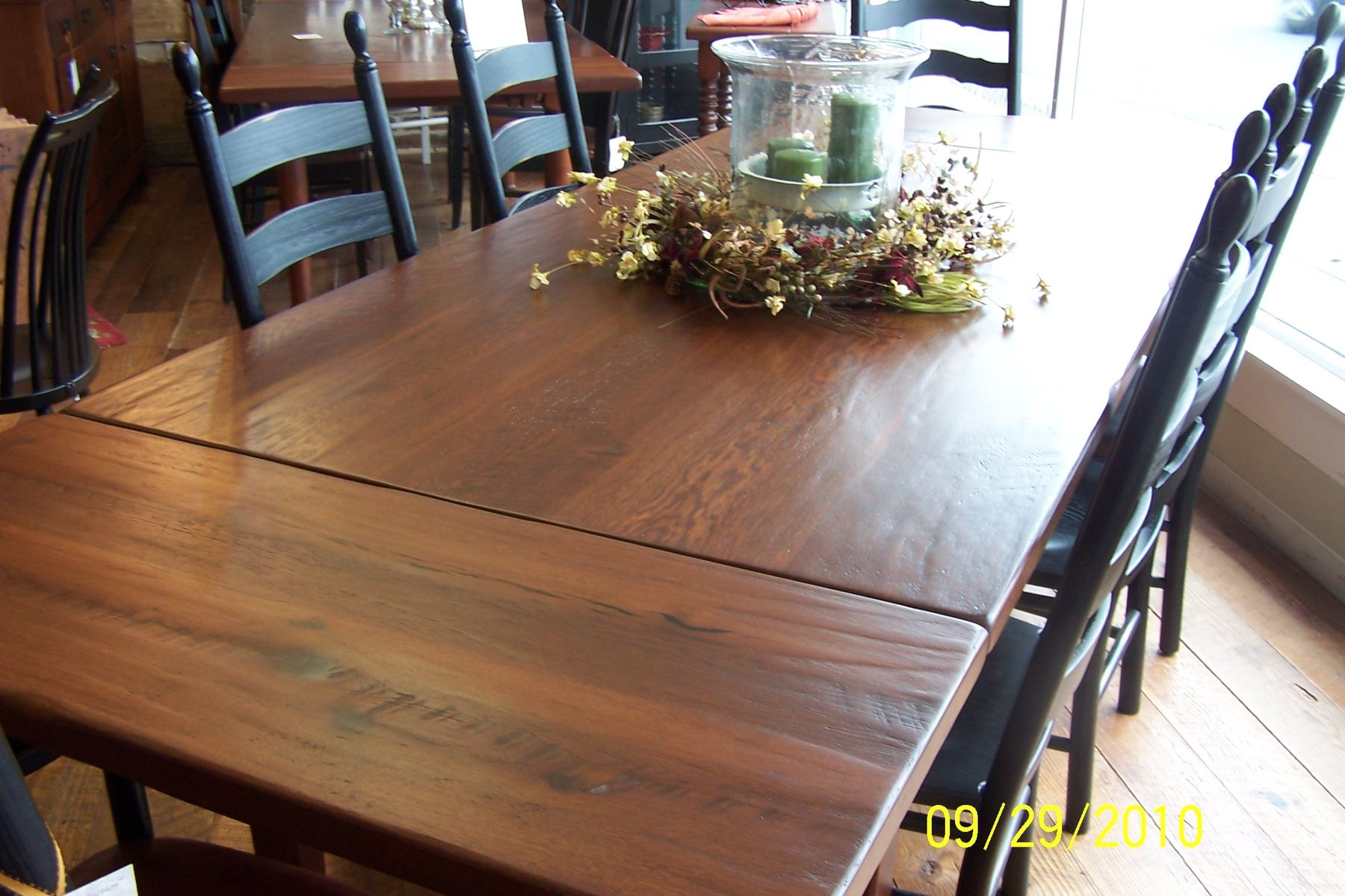 Custom made our signature farm table
