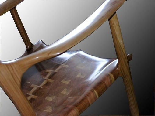 Sam Maloof Inspired Rocking Chair