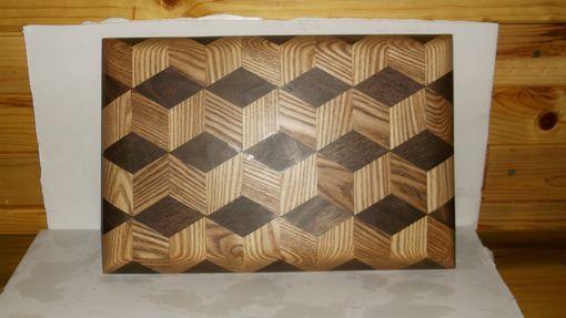 Hand Made Cutting Board 3d Design By Pappywood