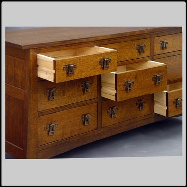 Custom Made Mackintosh 9 Drawer Dresser