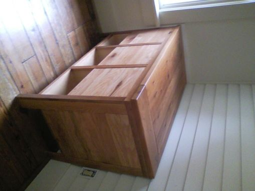 Custom Made Firewood Storage Box