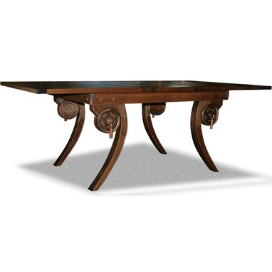 Custom Made Steampunk Dining Table
