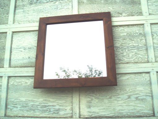 Handmade Square Mirror (28 X 36 4 Inch Frame) by Reflections Elmira ...