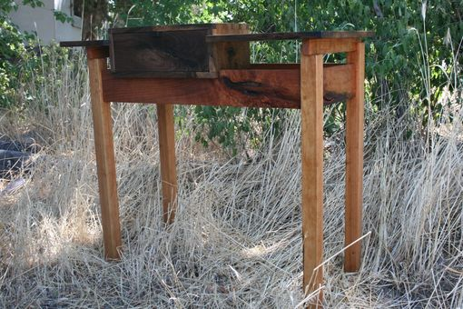 Custom Made Rustic Cherry Entry Table