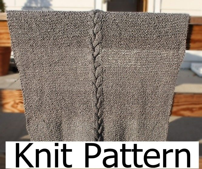 Handmade Knit Pattern Baby Blanket Pattern Easy Warm Cable By