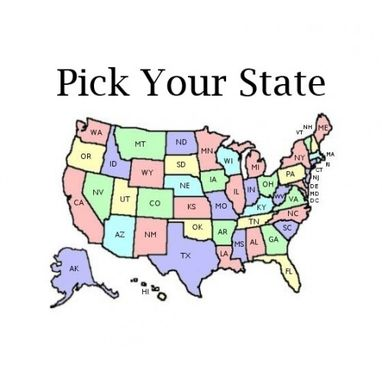 Custom Made Pick Your State
