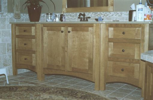 Custom Made Custom Birch Vanity