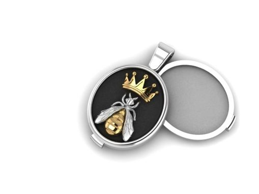 Custom Made Queen Bee Locket