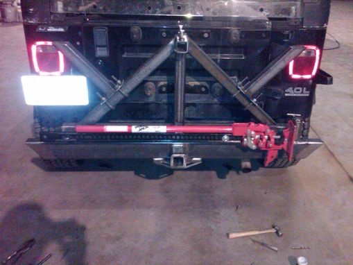 Custom Made Jeep Rear Bumper