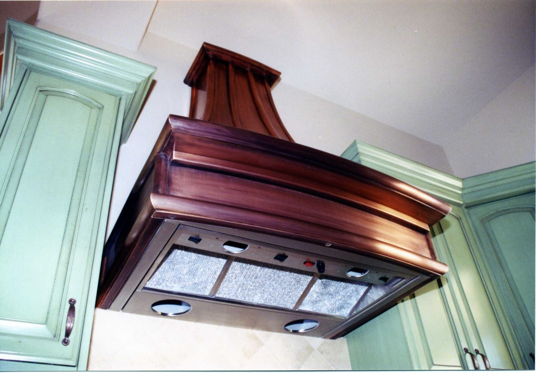 Hand Made French Country Copper Range Hoods By Cabinets