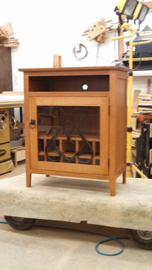 Custom Made Decorative Wine Cabinet