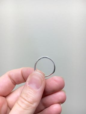 Custom Made Sterling Silver Rotary Stacking Rings
