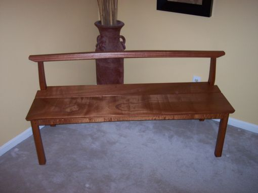 Custom Made Sapele Bench