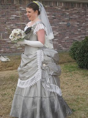 Custom Made Early Bustle Victorian Dresses 1869-1876
