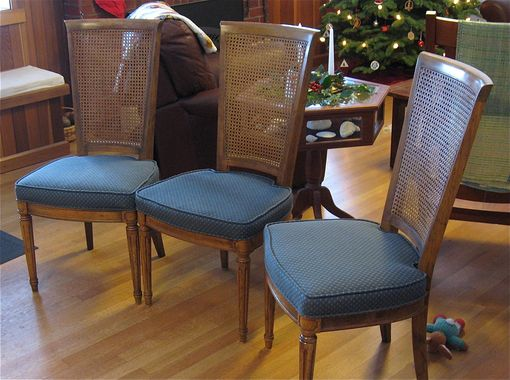 Custom Made Hickory Dining Chairs