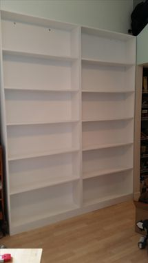 Custom Made Set Of Bookcases!