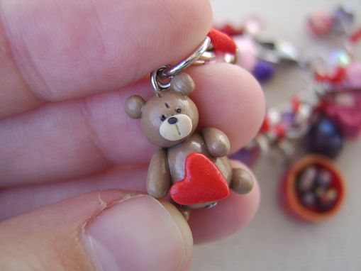 Custom Made Custom Polymer Clay Charm Bracelets