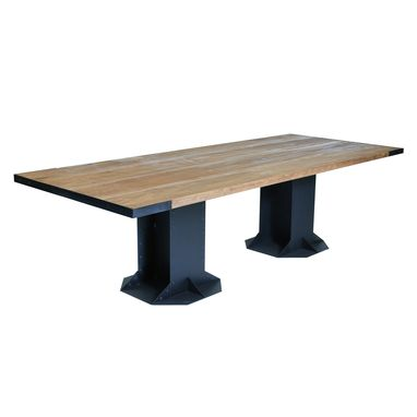 Custom Made I-Beam Table For Kitchen Or Dining