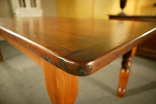 Custom Made Pine Dining Table