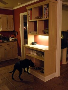 Custom Made Hutch Cabinet For Dogs