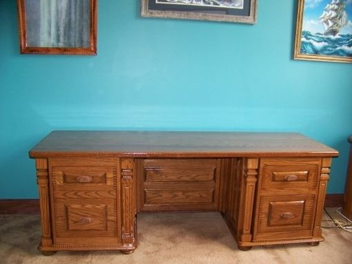 Custom Made Mariners Desk