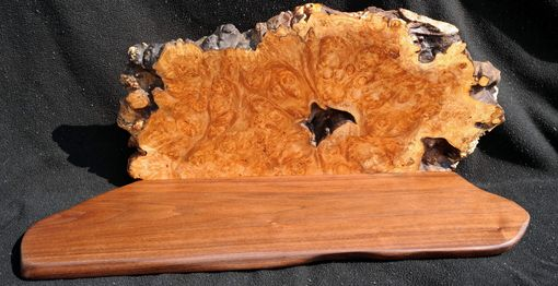 Custom Made Maple Burl Shelves