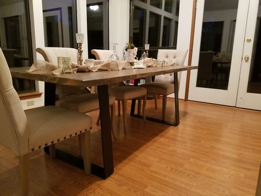 Custom Made Modern Industrial Table